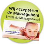 Wij accepteren de Massagebon